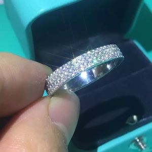 925 Sterling silver Cz Engagements ring